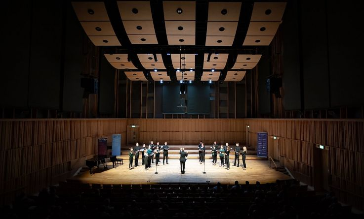 Headline performance at ABCD for Chamber Choir of London