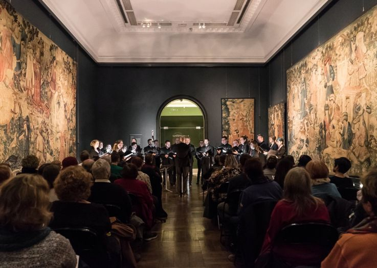 Live worldwide broadcast for Dominic and venetian masterworks from the V & A